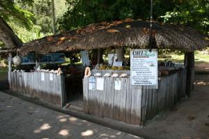 Restaurant Beach La Digue