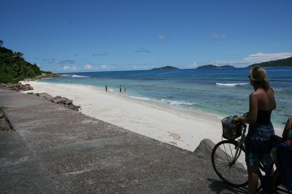 Beach La Digue