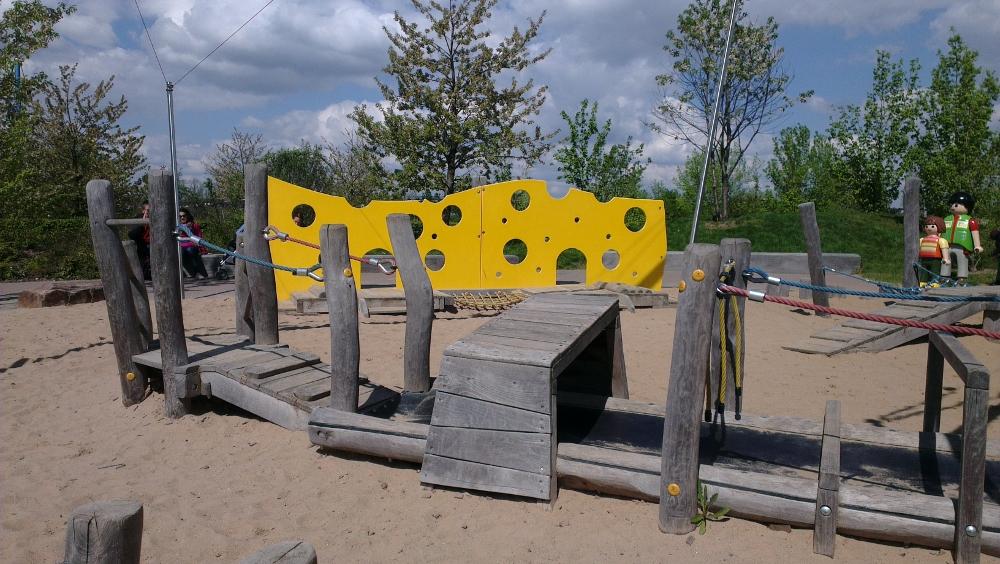 Balancing playground Playmobil Funpark