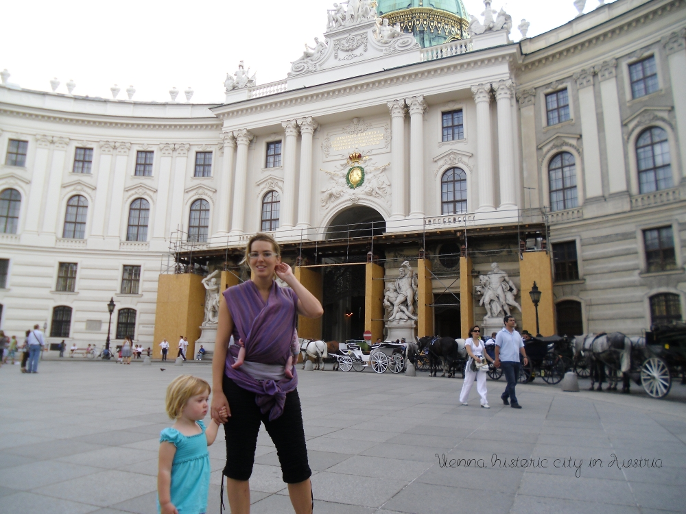 Cultural Travel Children Vienna