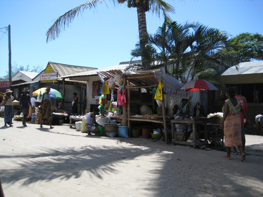 Market Fort Dauphin Madagascar