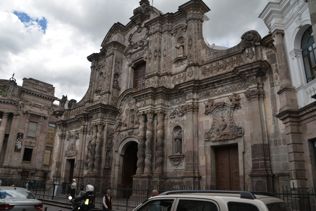 famous church in Quito