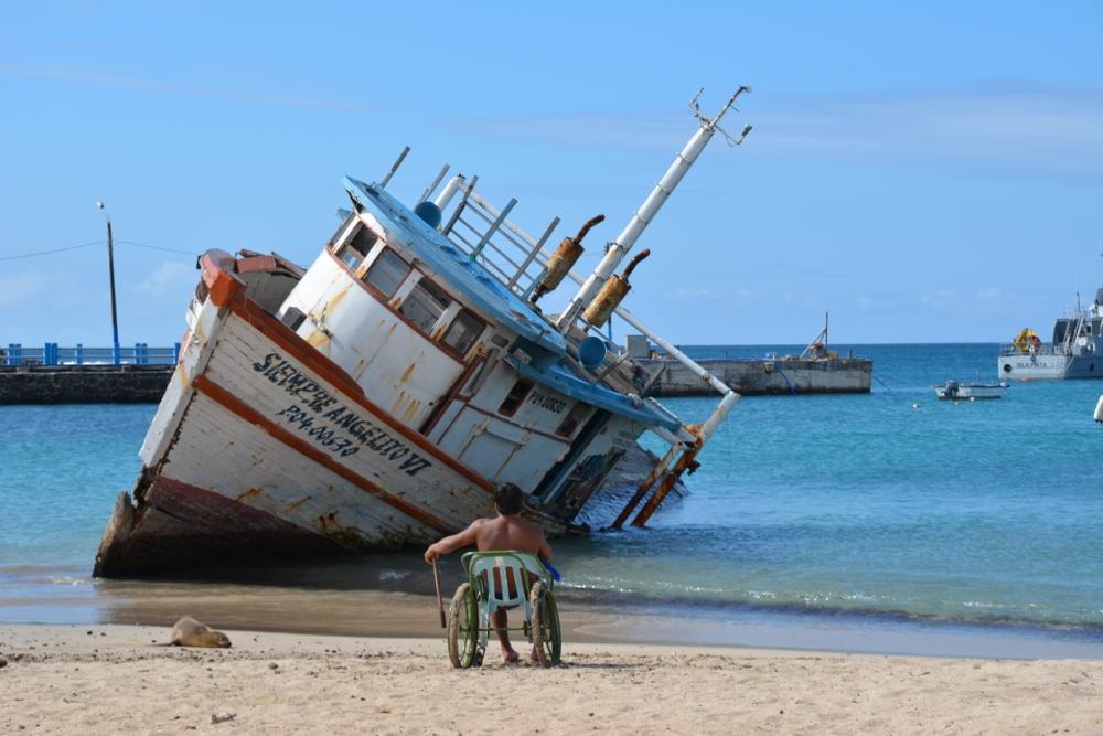Beach San Cristobal Galapagos