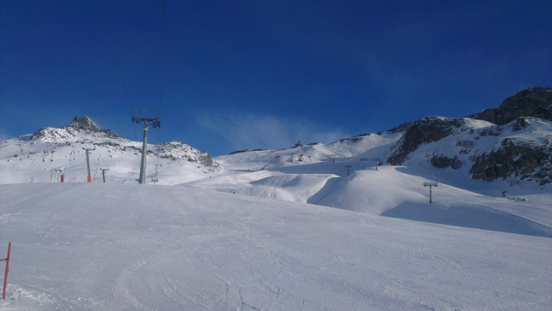 Don't forget your suncream while skiing in Ischgl - Copyright by ants-in-our-pants.com