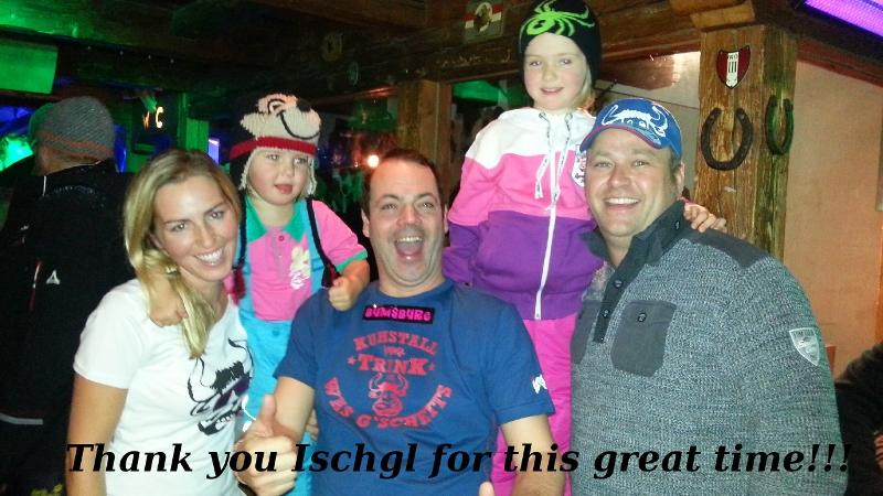 skiing in Ischgl with children